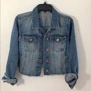 Cropped Denim jacket - highway jeans